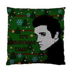 Elvis Presley   Christmas Standard Cushion Case (two Sides)