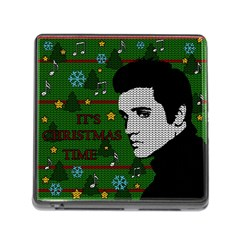 Elvis Presley   Christmas Memory Card Reader (square)