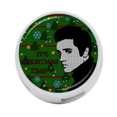 Elvis Presley   Christmas 4 Port Usb Hub (two Sides)