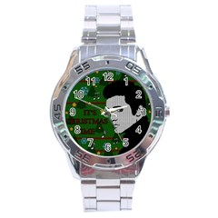 Elvis Presley   Christmas Stainless Steel Analogue Watch