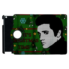 Elvis Presley   Christmas Apple Ipad 3/4 Flip 360 Case