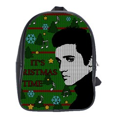 Elvis Presley   Christmas School Bag (xl)