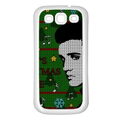 Elvis Presley   Christmas Samsung Galaxy S3 Back Case (white)