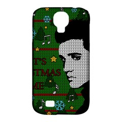 Elvis Presley   Christmas Samsung Galaxy S4 Classic Hardshell Case (pc+silicone)