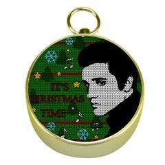 Elvis Presley   Christmas Gold Compasses