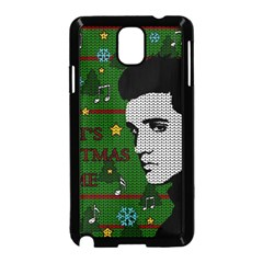 Elvis Presley   Christmas Samsung Galaxy Note 3 Neo Hardshell Case (black)