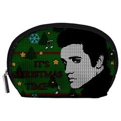 Elvis Presley   Christmas Accessory Pouches (large)