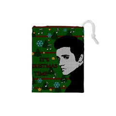 Elvis Presley   Christmas Drawstring Pouches (small)