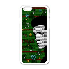 Elvis Presley   Christmas Apple Iphone 6/6s White Enamel Case