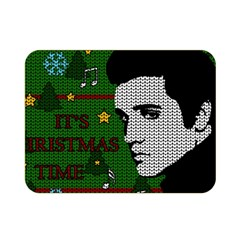 Elvis Presley   Christmas Double Sided Flano Blanket (mini)