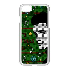 Elvis Presley   Christmas Apple Iphone 7 Seamless Case (white)