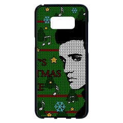 Elvis Presley   Christmas Samsung Galaxy S8 Plus Black Seamless Case