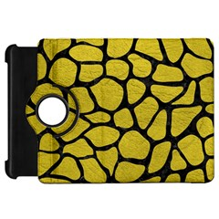 Skin1 Black Marble & Yellow Leather (r) Kindle Fire Hd 7