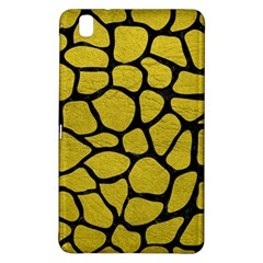 Skin1 Black Marble & Yellow Leather (r) Samsung Galaxy Tab Pro 8 4 Hardshell Case