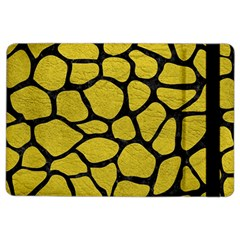 Skin1 Black Marble & Yellow Leather (r) Ipad Air 2 Flip