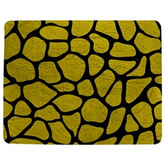 Skin1 Black Marble & Yellow Leather (r) Jigsaw Puzzle Photo Stand (rectangular)