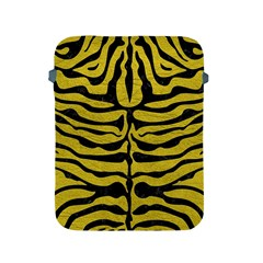 Skin2 Black Marble & Yellow Leather Apple Ipad 2/3/4 Protective Soft Cases