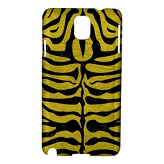 Skin2 Black Marble & Yellow Leather Samsung Galaxy Note 3 N9005 Hardshell Case
