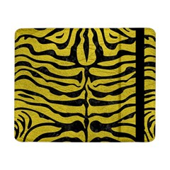 Skin2 Black Marble & Yellow Leather Samsung Galaxy Tab Pro 8 4  Flip Case