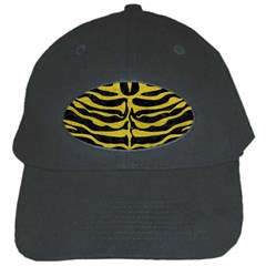 Skin2 Black Marble & Yellow Leather (r) Black Cap