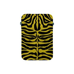 Skin2 Black Marble & Yellow Leather (r) Apple Ipad Mini Protective Soft Cases