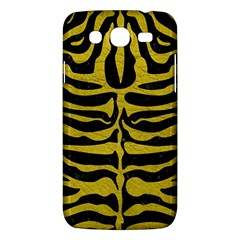 Skin2 Black Marble & Yellow Leather (r) Samsung Galaxy Mega 5 8 I9152 Hardshell Case
