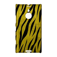Skin3 Black Marble & Yellow Leather Nokia Lumia 1520