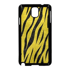 Skin3 Black Marble & Yellow Leather Samsung Galaxy Note 3 Neo Hardshell Case (black)