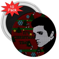 Elvis Presley   Christmas 3  Magnets (10 Pack)