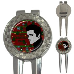Elvis Presley   Christmas 3 In 1 Golf Divots