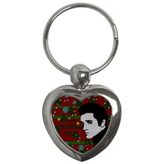 Elvis Presley   Christmas Key Chains (heart)