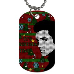 Elvis Presley   Christmas Dog Tag (two Sides)