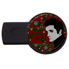 Elvis Presley   Christmas Usb Flash Drive Round (4 Gb)