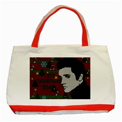 Elvis Presley   Christmas Classic Tote Bag (red)