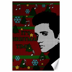 Elvis Presley   Christmas Canvas 12  X 18