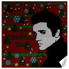 Elvis Presley   Christmas Canvas 20  X 20