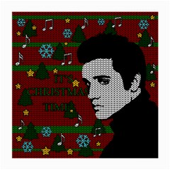 Elvis Presley   Christmas Medium Glasses Cloth (2 Side)