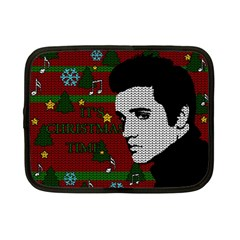 Elvis Presley   Christmas Netbook Case (small)