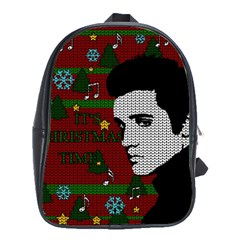 Elvis Presley   Christmas School Bag (large)