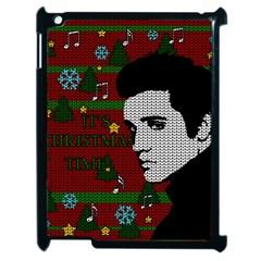 Elvis Presley   Christmas Apple Ipad 2 Case (black)
