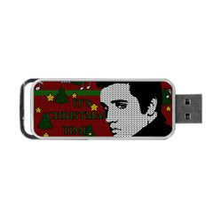 Elvis Presley   Christmas Portable Usb Flash (one Side)