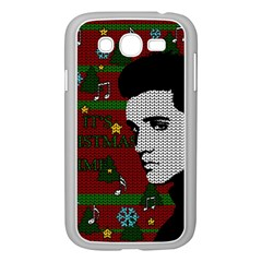 Elvis Presley   Christmas Samsung Galaxy Grand Duos I9082 Case (white)