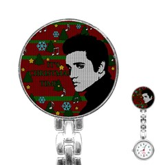 Elvis Presley   Christmas Stainless Steel Nurses Watch
