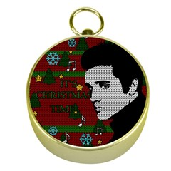 Elvis Presley   Christmas Gold Compasses