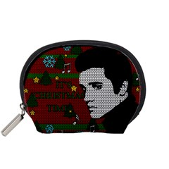 Elvis Presley   Christmas Accessory Pouches (small)