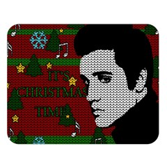 Elvis Presley   Christmas Double Sided Flano Blanket (large)