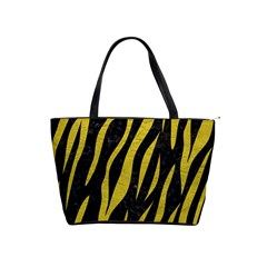 Skin3 Black Marble & Yellow Leather (r) Shoulder Handbags