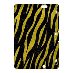 Skin3 Black Marble & Yellow Leather (r) Kindle Fire Hdx 8 9  Hardshell Case
