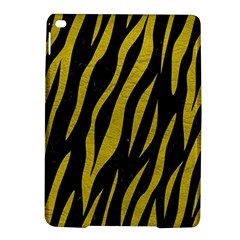 Skin3 Black Marble & Yellow Leather (r) Ipad Air 2 Hardshell Cases