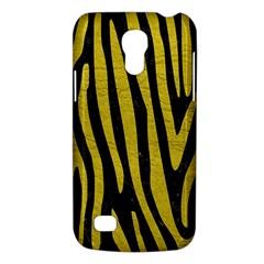 Skin4 Black Marble & Yellow Leather Galaxy S4 Mini